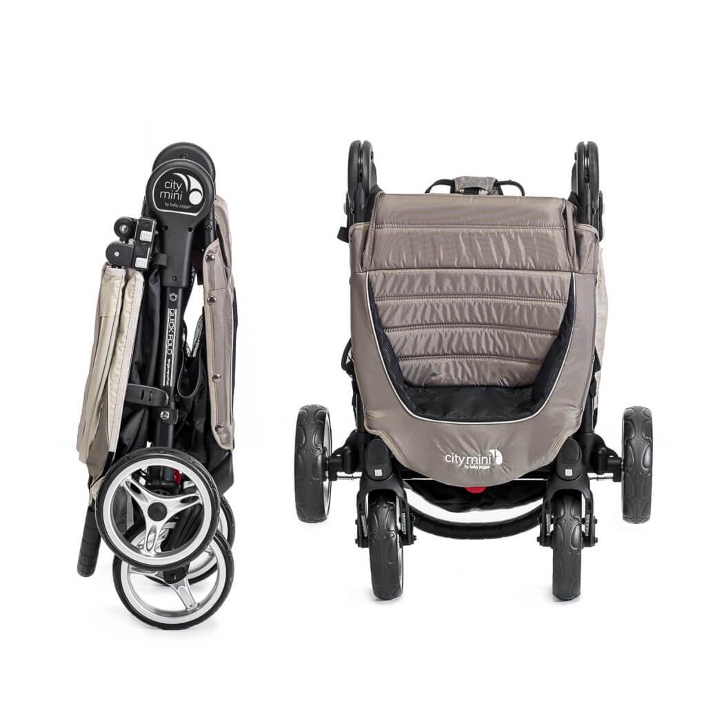 Baby Jogger City Mini 4 zusammengefaltet