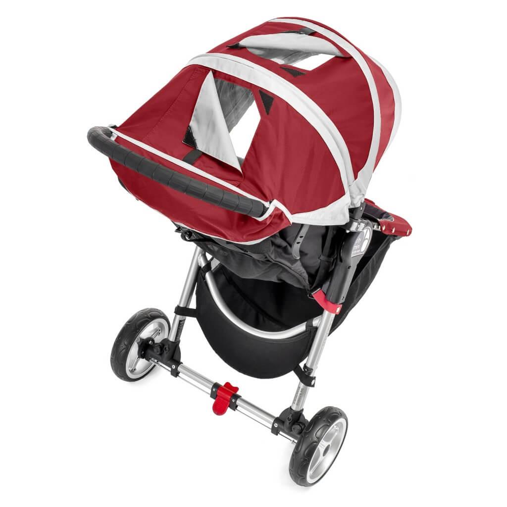 Baby Jogger City Mini 3 Sitzeinheit mit Sichtfenster