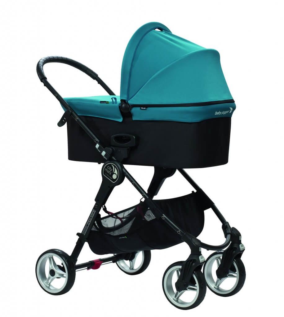 Baby Jogger City Mini 4 mit Babywanne