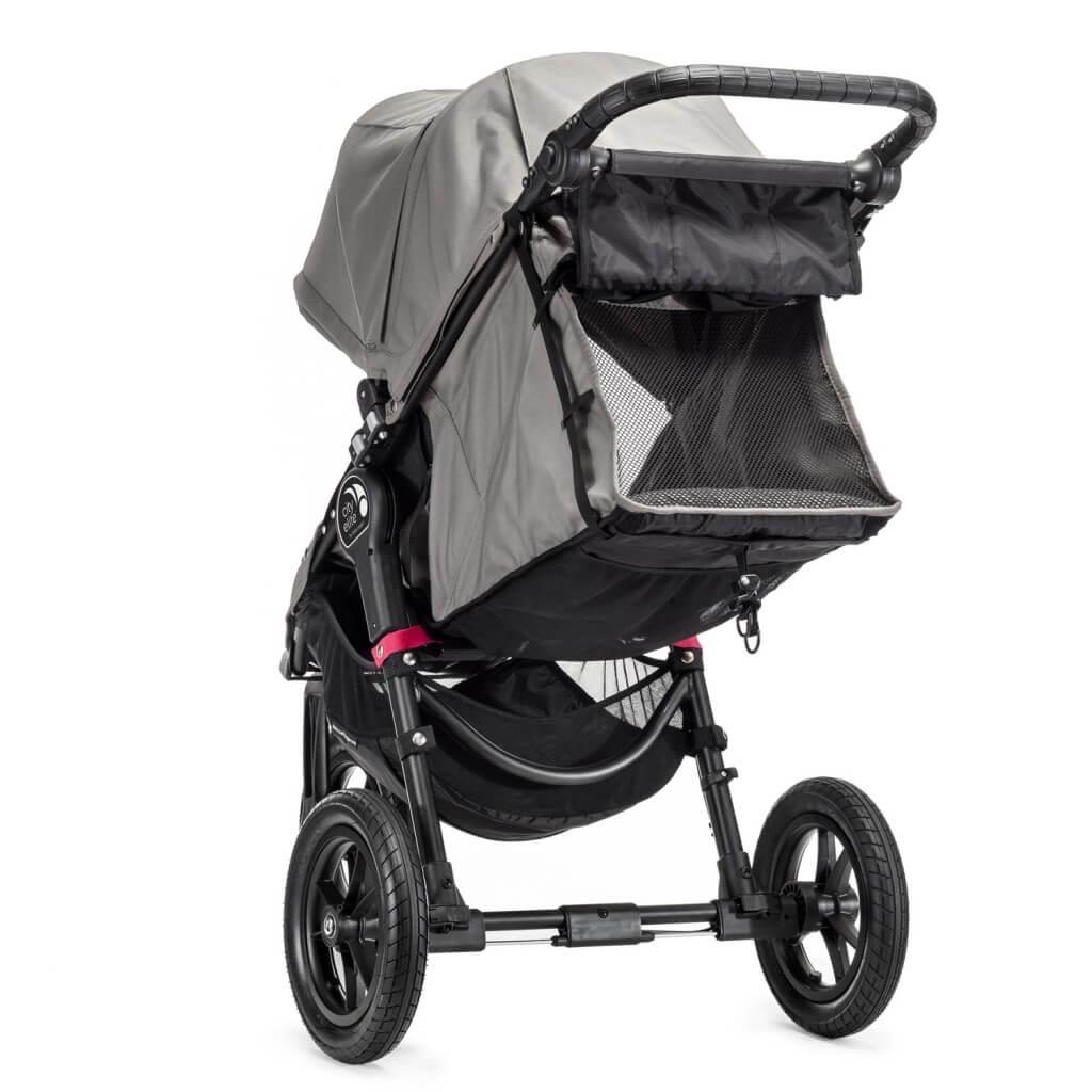 Baby Jogger City Elite Liegeposition mit offenem Rückenteil