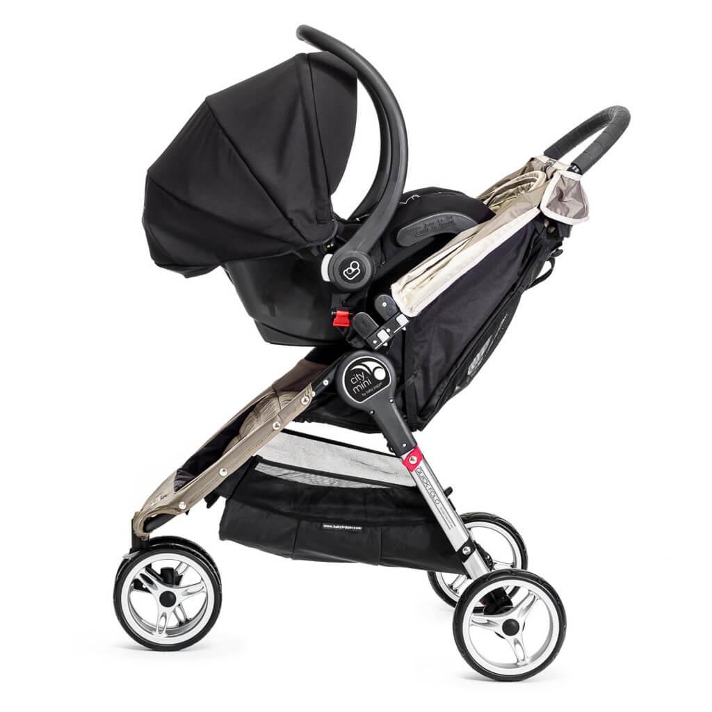 Baby Jogger City Mini 3 mit Autoschale
