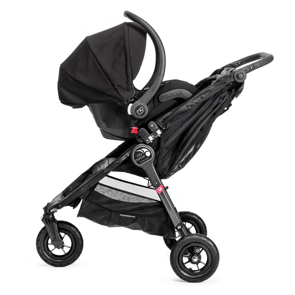 Baby Jogger City Mini GT Double mit Autoschale