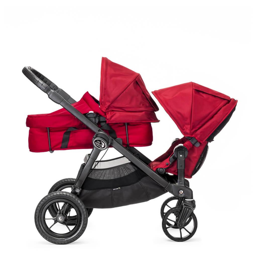 Baby Jogger City Select mit Babywanne und Sitzeinheit