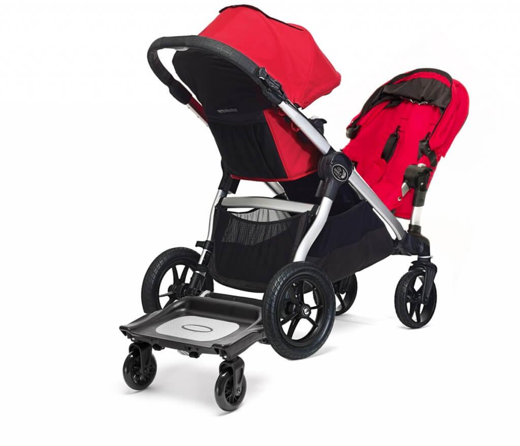 Baby Jogger City Select mit 2 Sitzen und Geschwisterboard