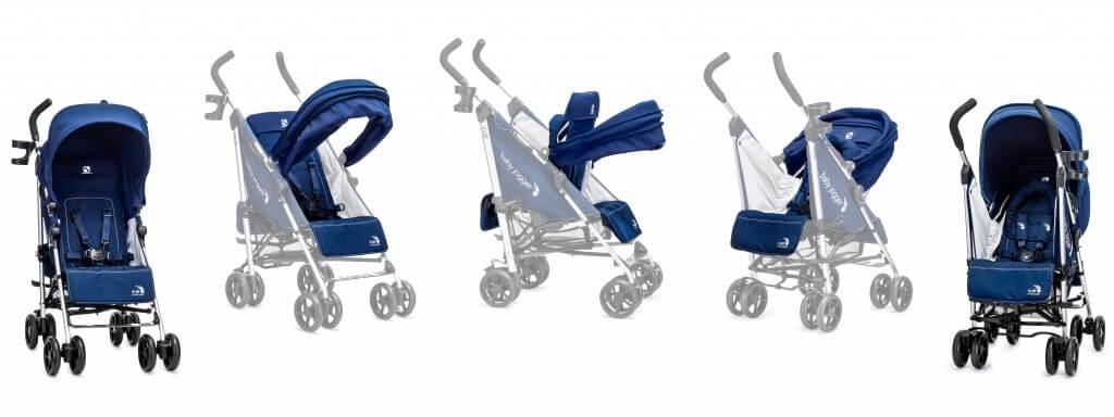 Baby Jogger Vue Lite Sitzveränderung