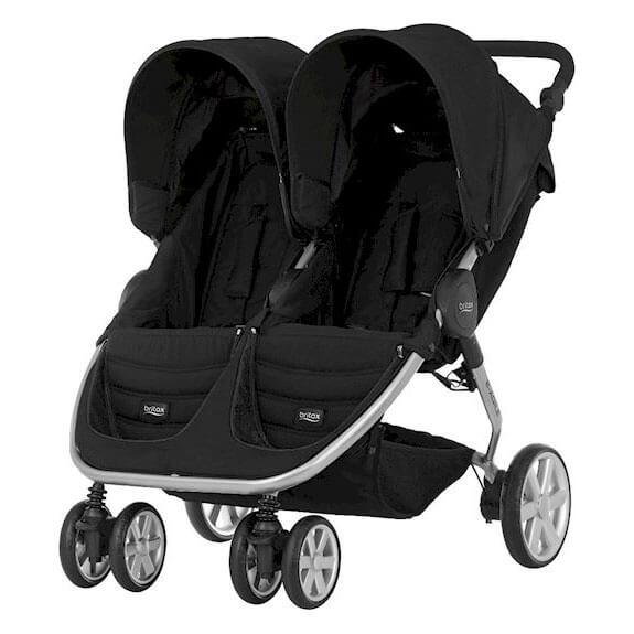 britax b agile double kinderwagen babyartikelcheck. Black Bedroom Furniture Sets. Home Design Ideas