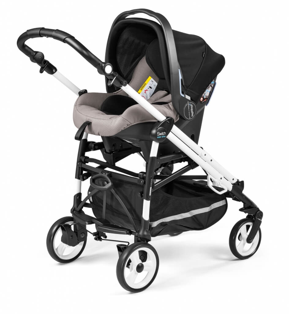 Peg Pérego Switch Easy Drive mit Babyschale