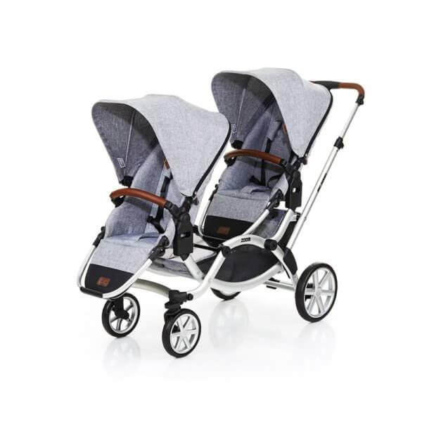 Zwillingskinderwagen abc  ABC Design Zoom - Kinderwagen - Babyartikelcheck