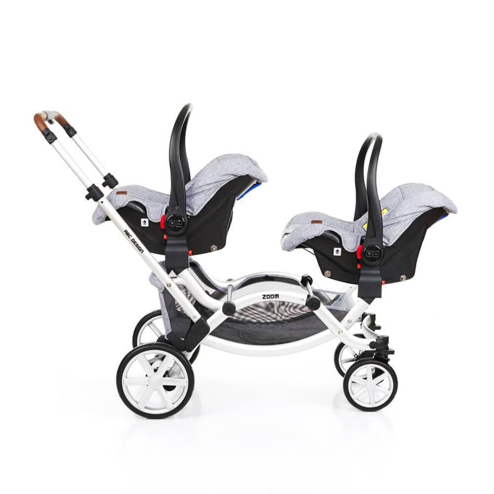 ABC Design Zoom mit zwei Babyschalen