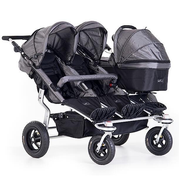 TFK Trio Twist mit 2 Sitzen und 1 Babywanne
