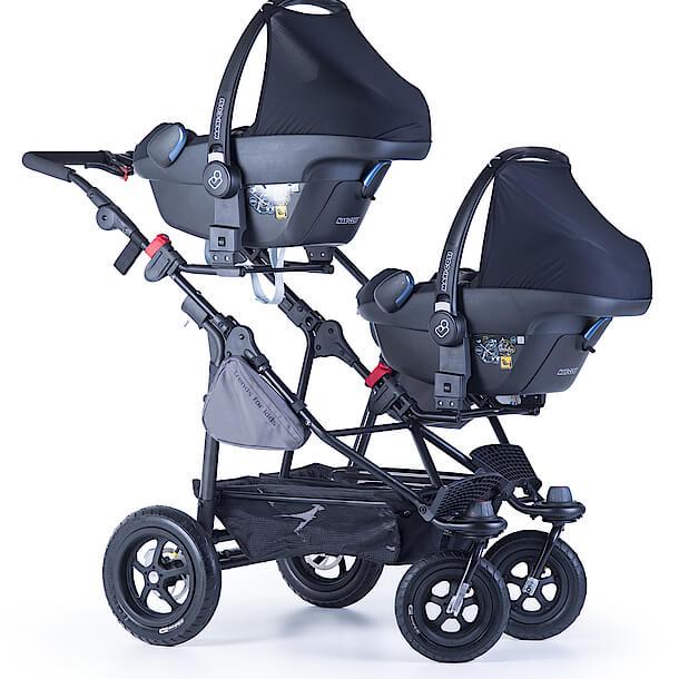 TFK Twinner Lite mit 2 Babyschalen