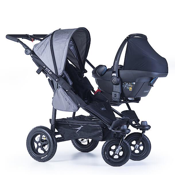 TFK Twinner Lite mit Sitzeinheit und Babyschale