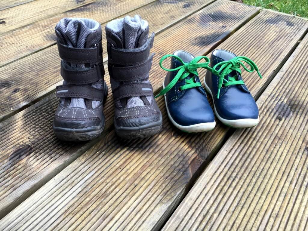 Das erste paar Schuhe – darauf sollte man beim Kauf achten