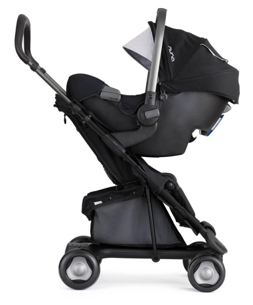 Nuna Pepp Lux mit Babyschale