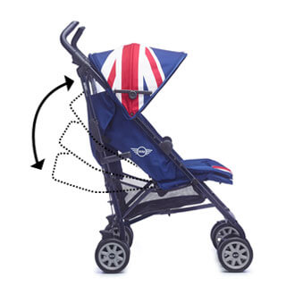 MINI Buggy XL verstellbarer Sitz