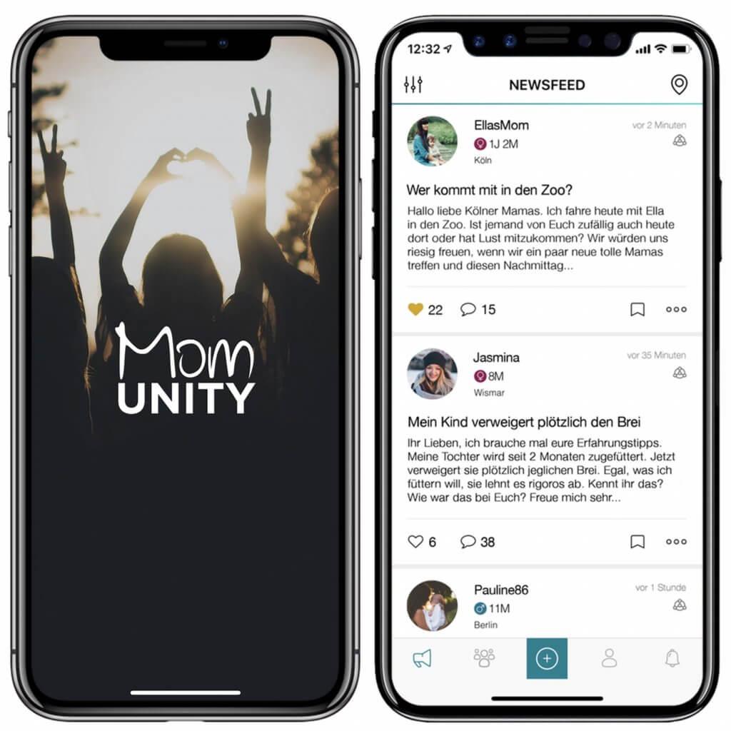 Momunity Soziales Netzwerk