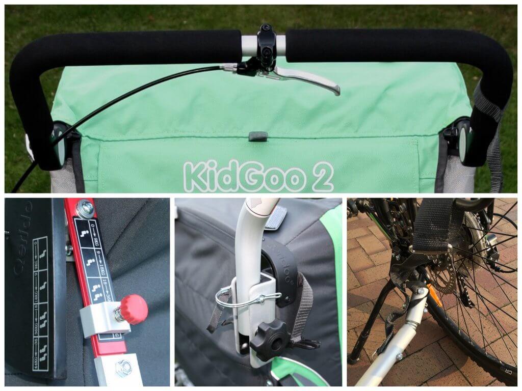 Qeridoo Kidgoo2 Sport Fahrradanhänger im Test