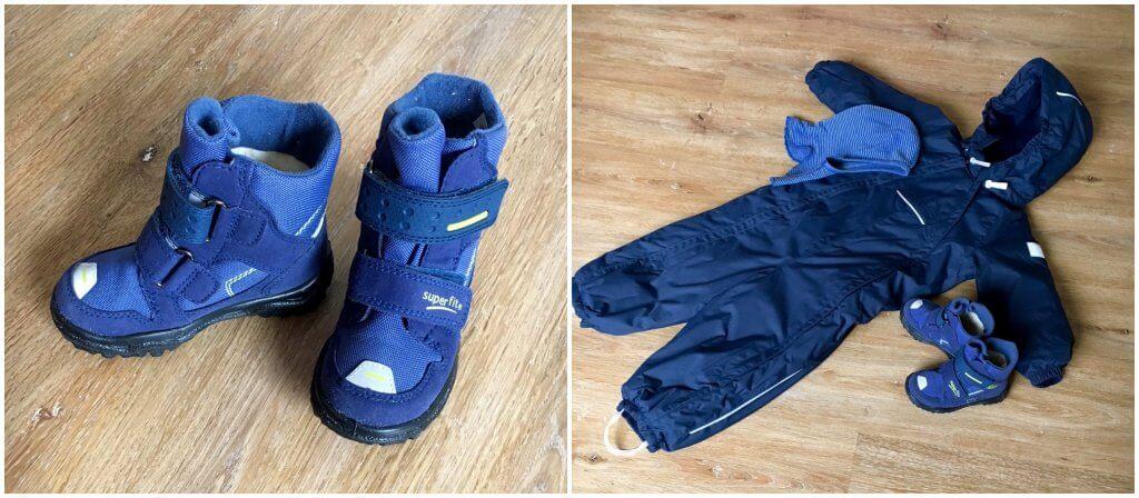 Winterbekleidung für kleine Racker
