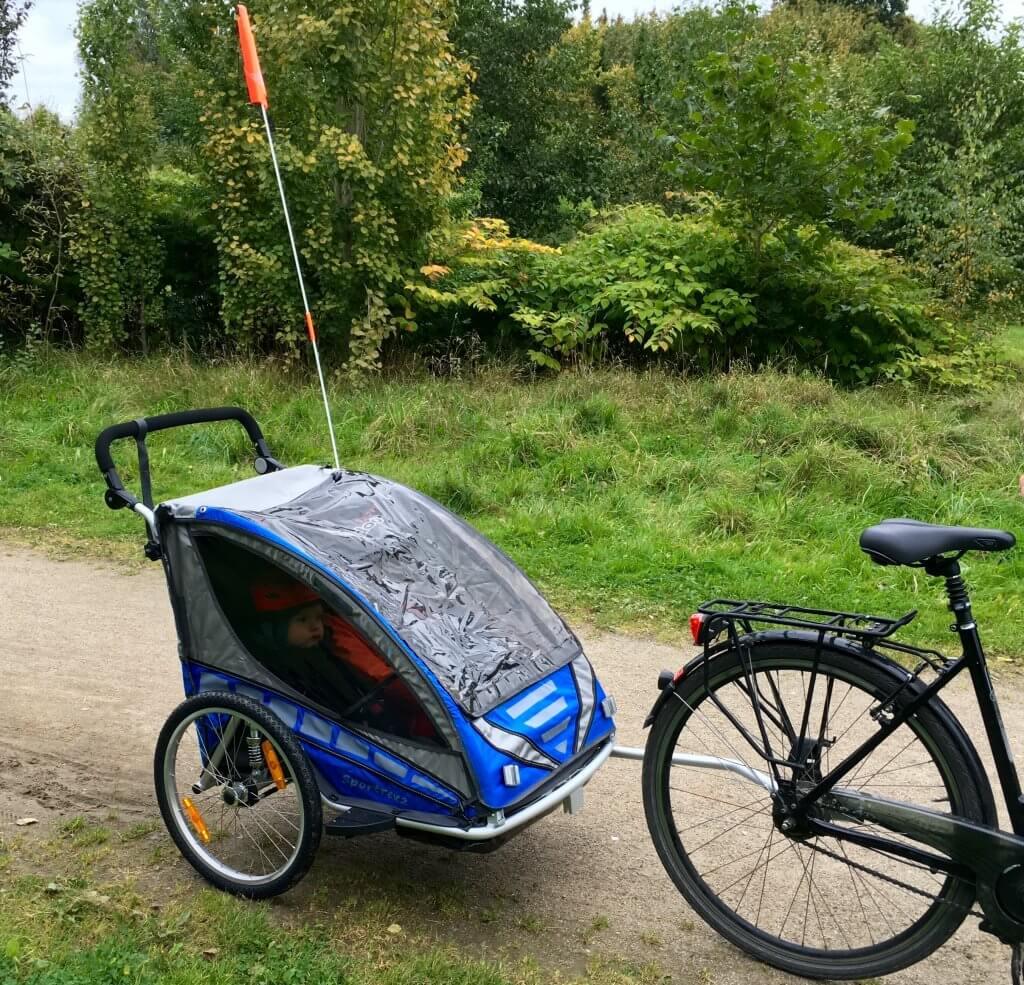 Qeridoo Sportrex2 Fahrradanhänger im Test