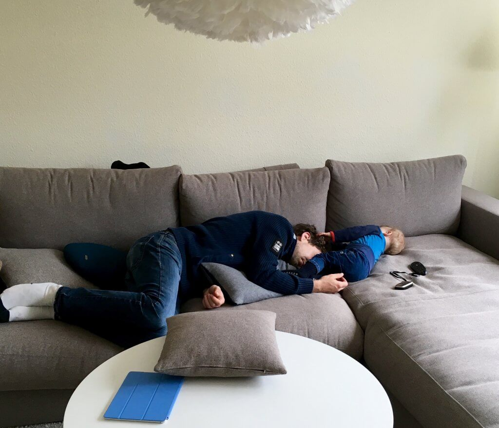Arbeit, Familie, Schlaf: Vatersein ist eine Frage der Einstellung