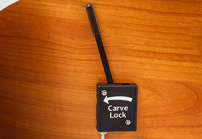 Babboe Carve-E Carve Lock Mechanismus