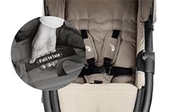 Baby Jogger City Lite Gurt und Faltmechanismus