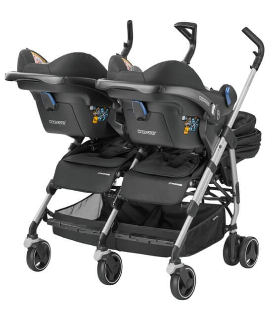 Maxi Cosi Dana For2 mit zwei Babyschalen