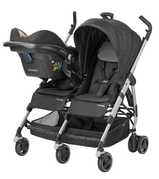 Maxi Cosi Dana For2 mit Babyschale