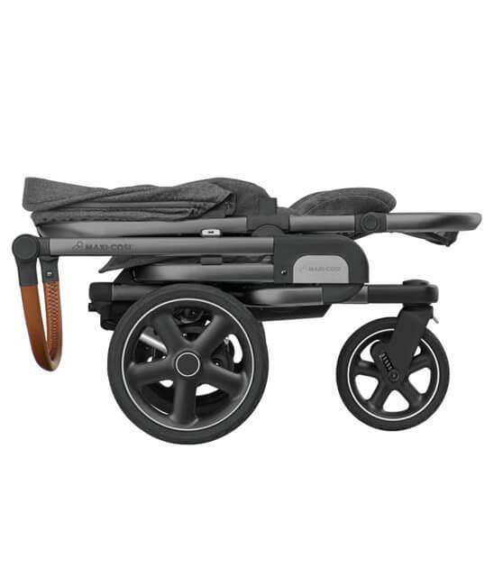 Maxi Cosi Nova 3-Rad zusammengefaltet mit Sitz