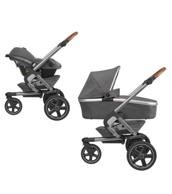 Maxi Cosi Nova 3-Rad Babywanne und Babyschale