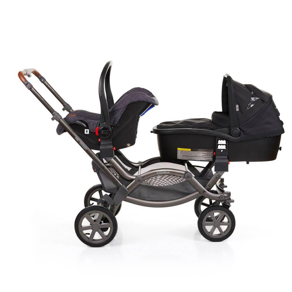 ABC Design Zoom Air mit Babyschale und Doozy Babywanne