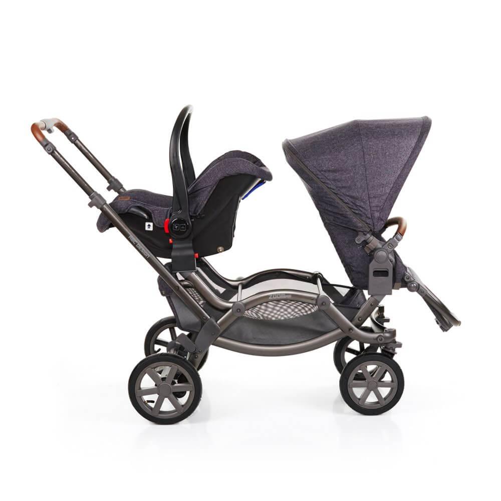 ABC Design Zoom Air mit Babyschale und Sitz