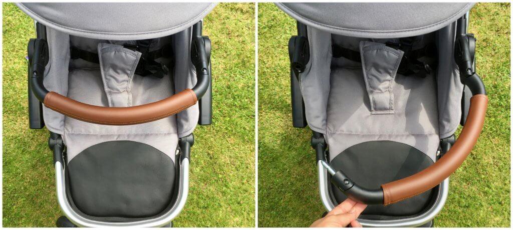 Bonavi Kinderwagen Sicherheitsbügel