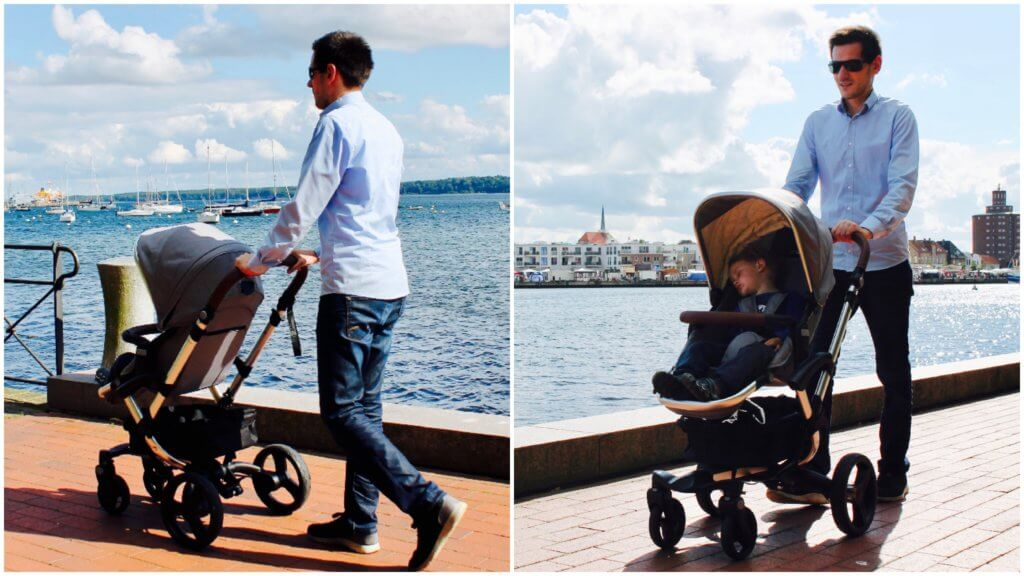 Bonavi Kinderwagen Spaziergang