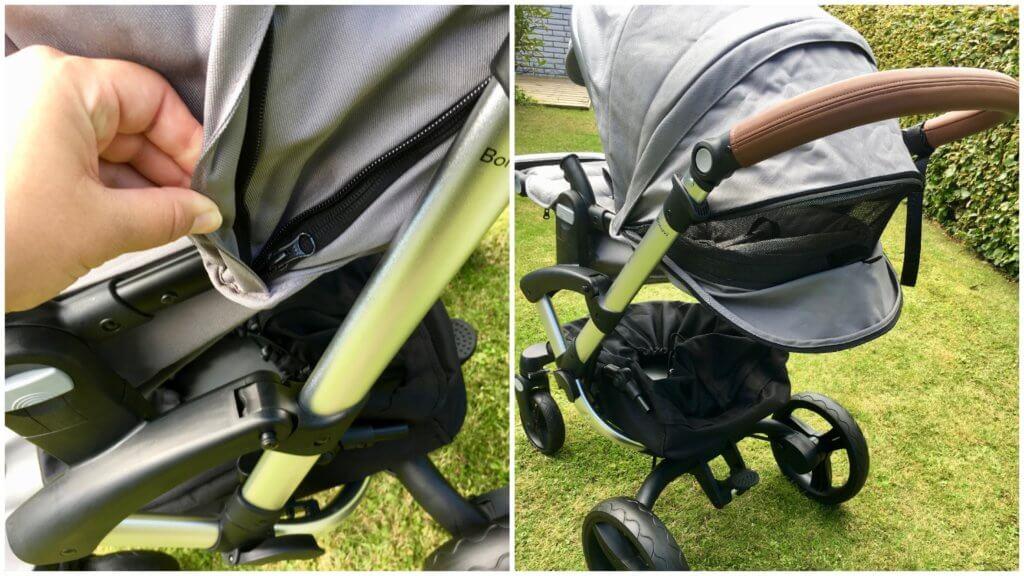 Bonavi Kinderwagen Verdeckverlängerung