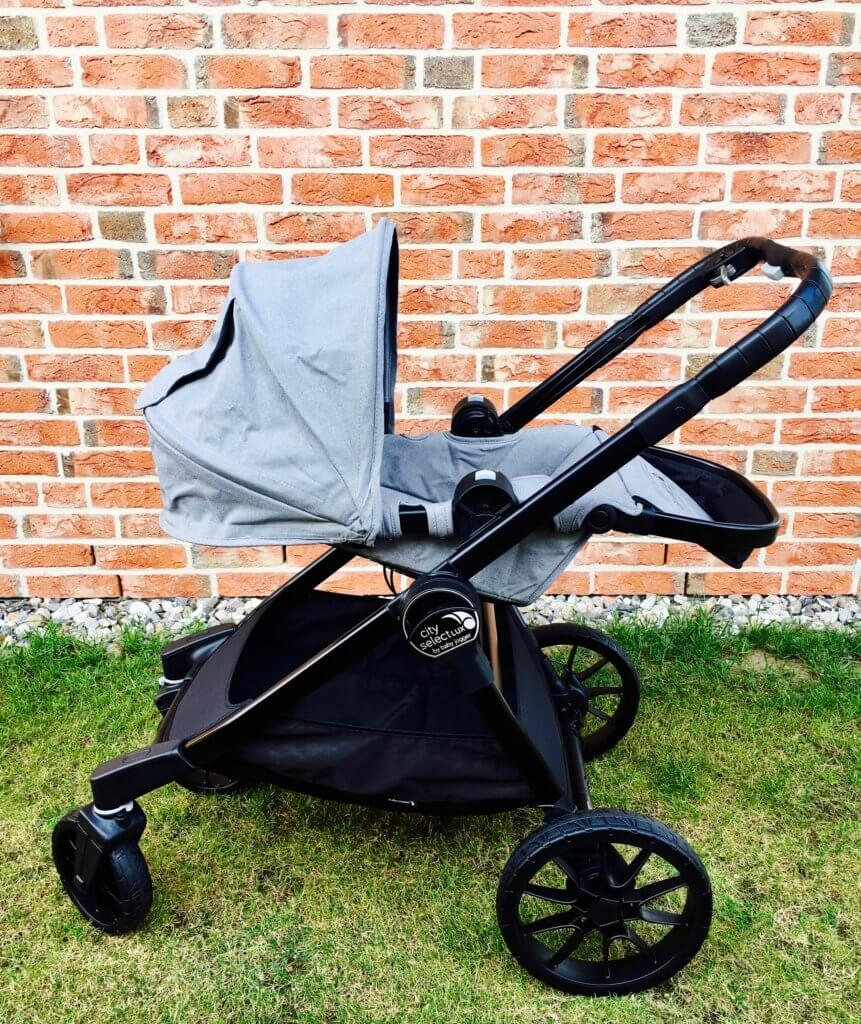 baby jogger city select lux kinderwagen im test testberichte babyartikelcheck. Black Bedroom Furniture Sets. Home Design Ideas