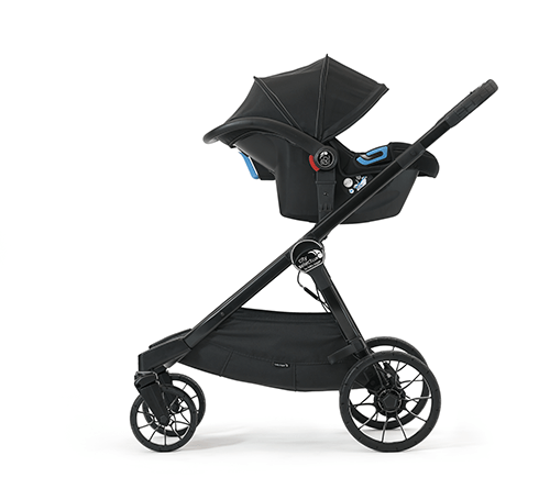 Baby Jogger City Select  LUX mit Babyschale