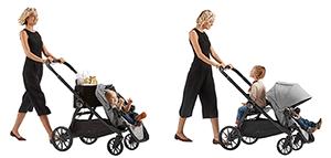 Baby Jogger City Select  LUX Einkaufstasche und Sitzbank