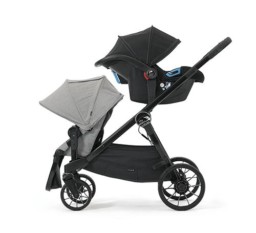 Baby Jogger City Select  LUX Sitz und Babyschale