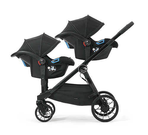 Baby Jogger City Select  LUX zwei Babyschalen