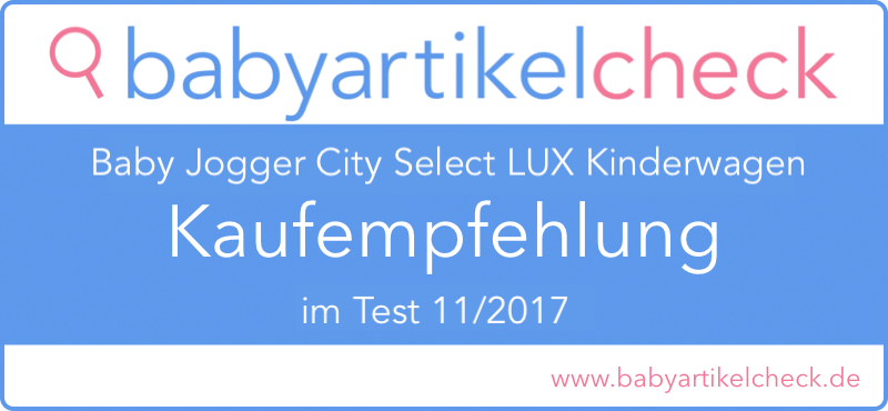 Baby Jogger City Select  LUX baby jogger city select lux kaufempfehlung