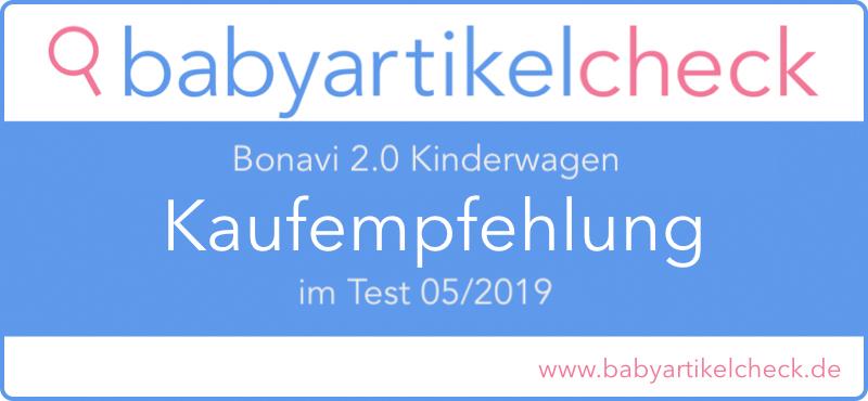 Bonavi 2.0 Kinderwagen im Test