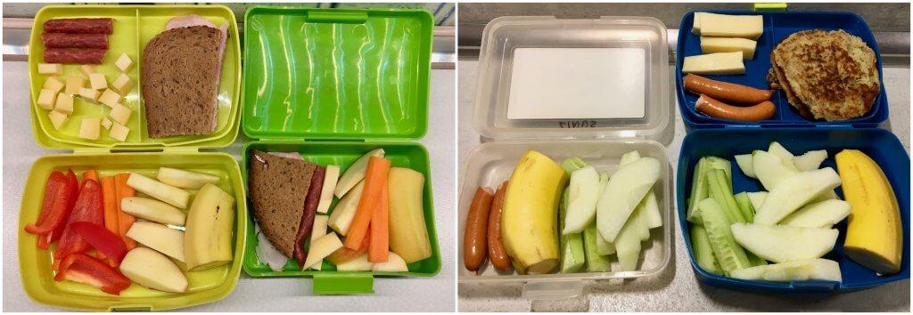Lunchbox für Kindergarten und Kita Idee