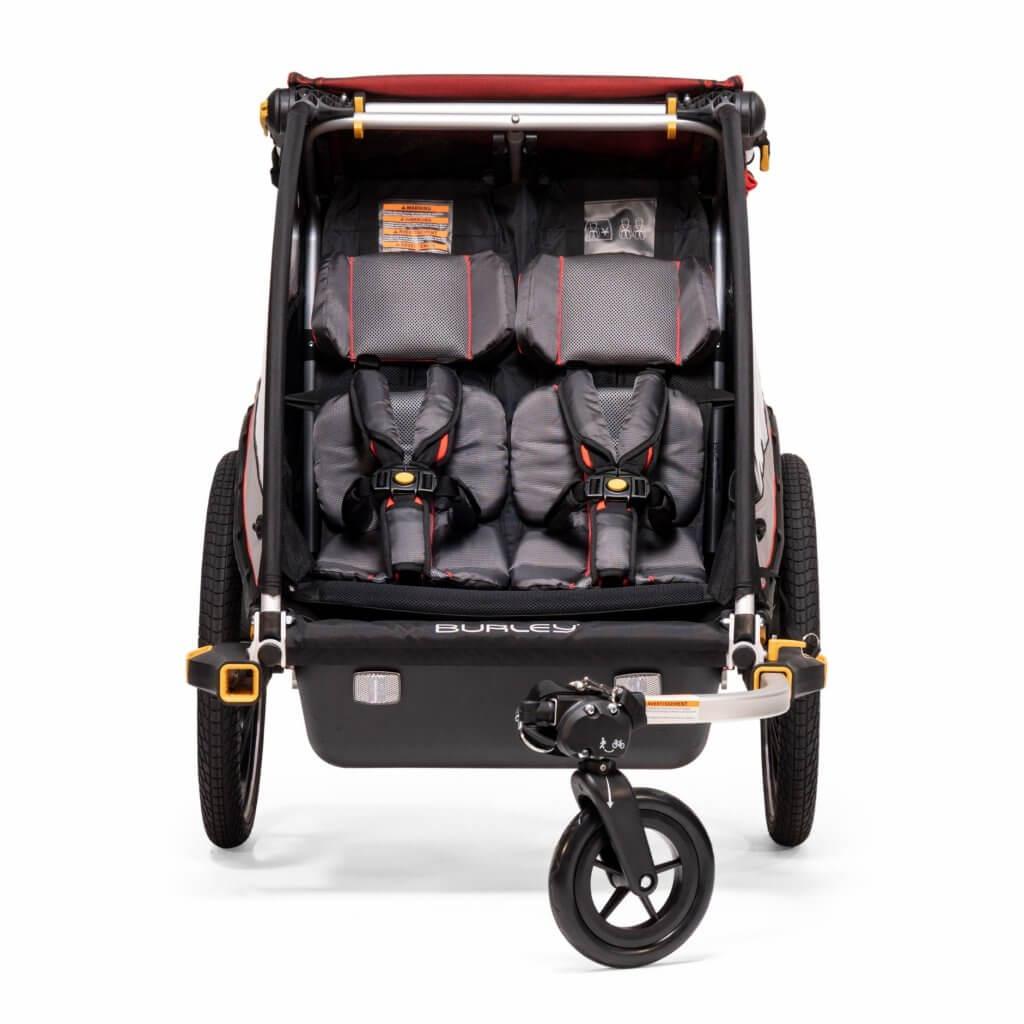 Burley Cub X mit Buggyrad