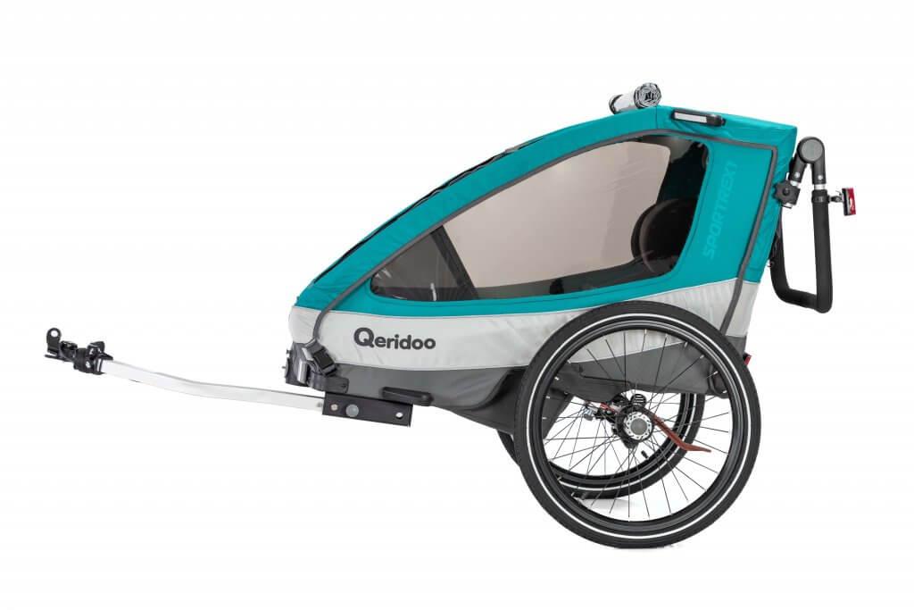 Qeridoo Sportrex1 Fahrradanhänger