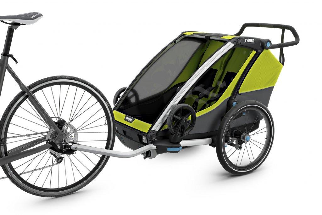 Thule Chariot Cab 2 am Fahrrad