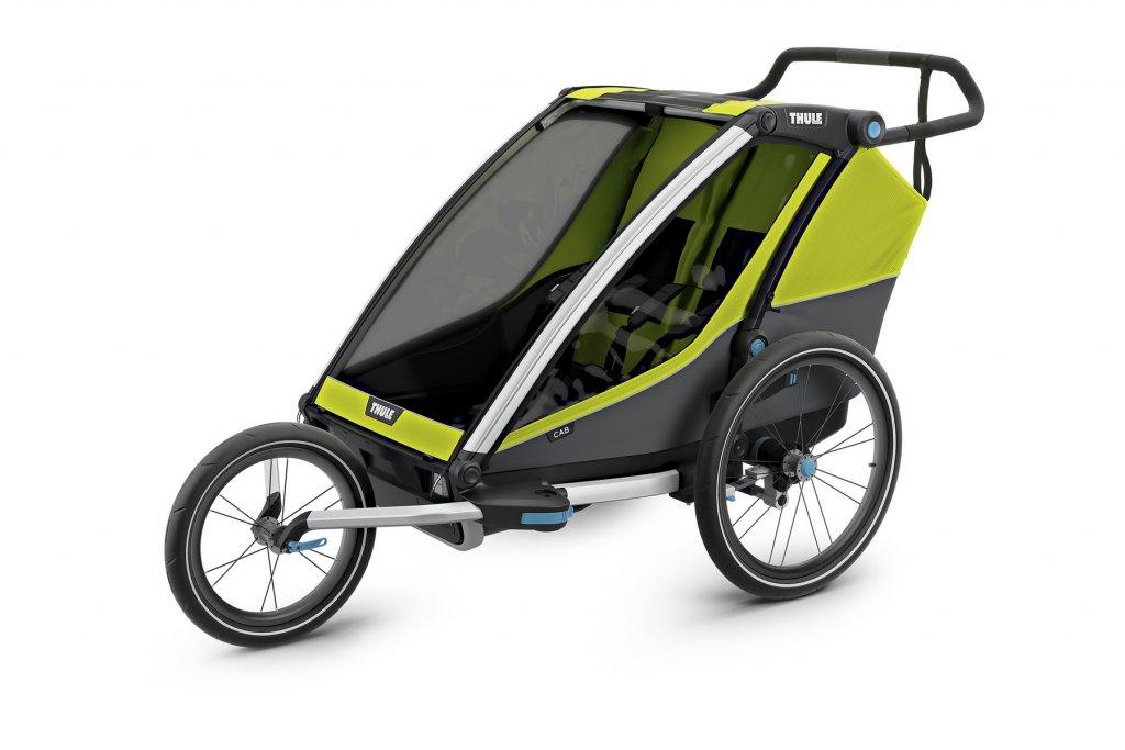Thule Chariot Cab 2 als Jogger