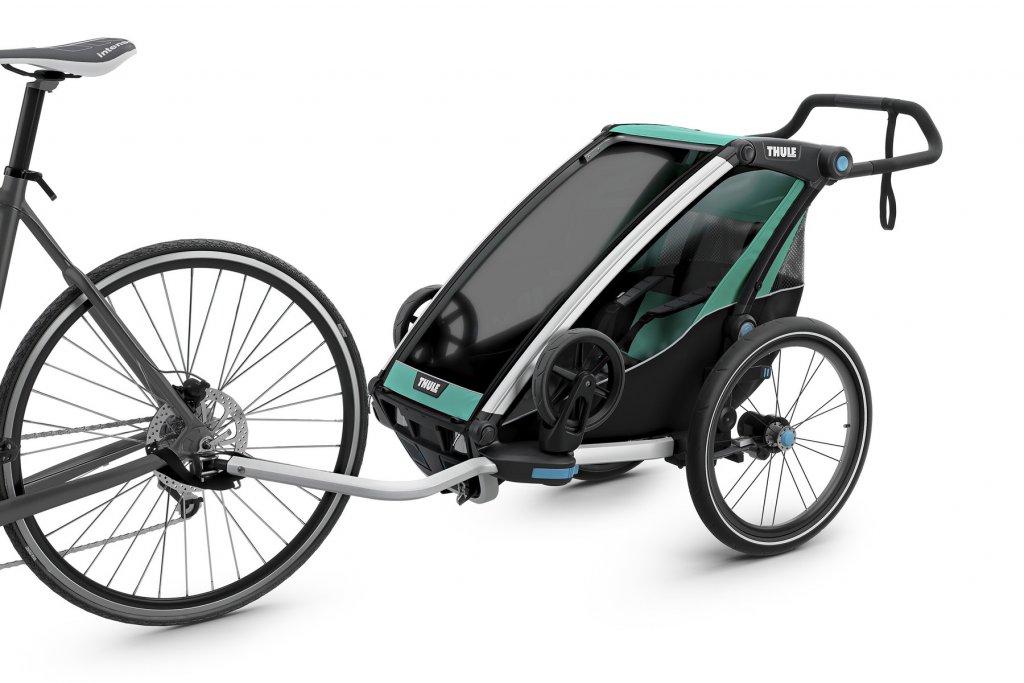 Thule Chariot Lite 1 am Fahrrad