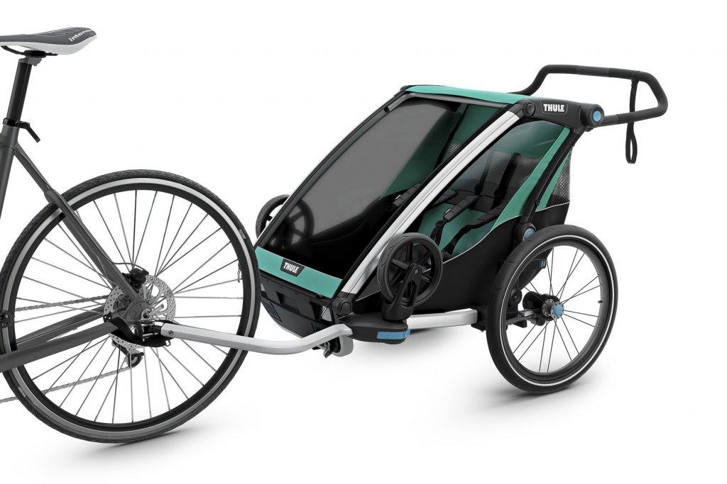 Thule Chariot Lite 2 am Fahrrad