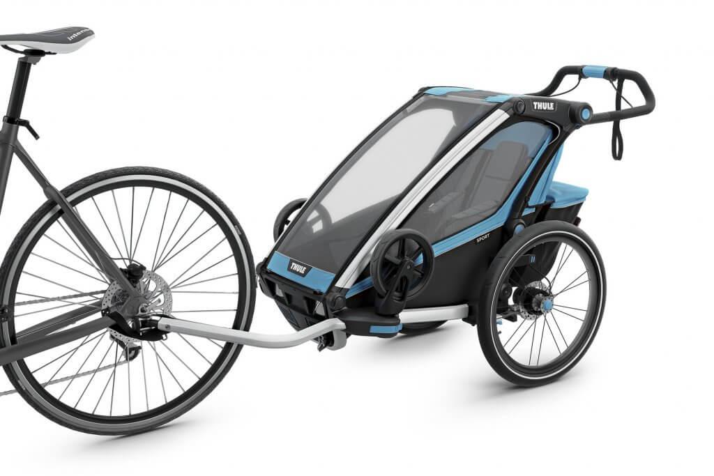 Thule Chariot Sport 1 Am Fahrrad